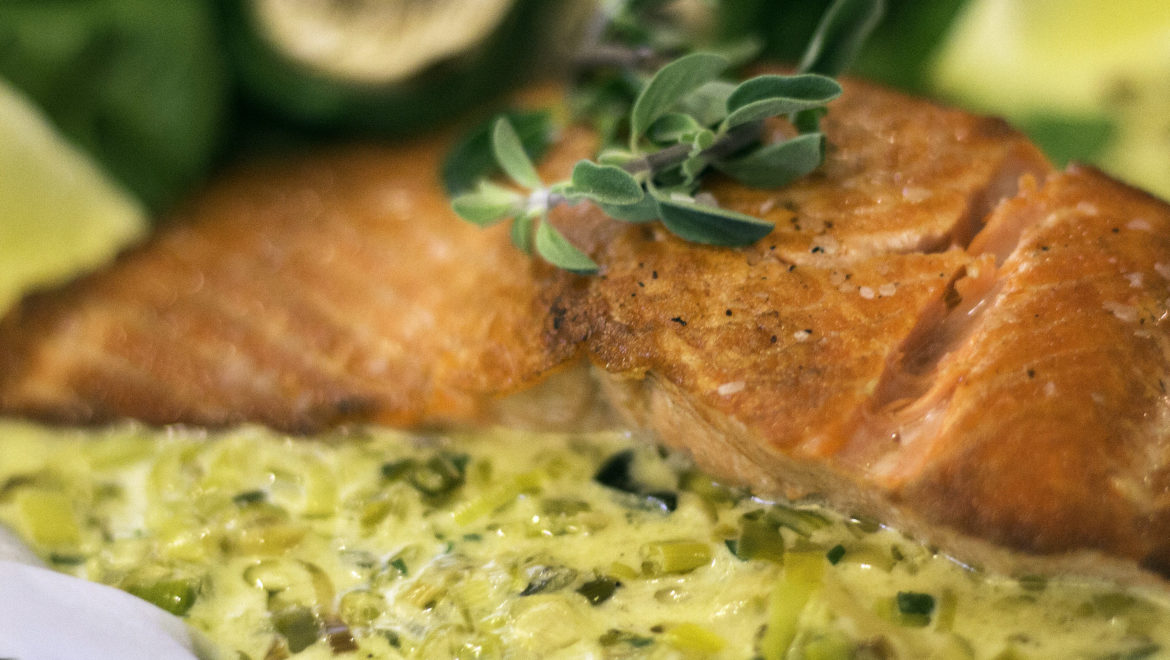 February Recipe – Super Simple Salmon
