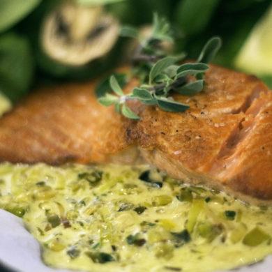 February Recipe – Super Simple Salmon